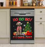 Ho Ho Ho Weimaraner Dishwasher Cover Sticker Kitchen Decor