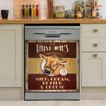 Try Farm Fresh Cow Dishwasher Cover Sticker Kitchen Decor