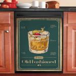 The Old Fashioned Recipe Cocktail Dishwasher Cover Sticker Kitchen Decor
