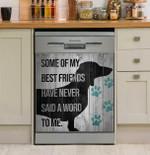 Some Of My Best Friends Dachshund Dishwasher Cover Sticker Kitchen Decor