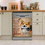 Corgi In My Darkest Hour Dishwasher Cover Sticker Kitchen Decor
