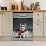 Corgi North Side Dishwasher Cover Sticker Kitchen Decor