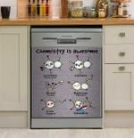 Chemistry Is Awesome Dishwasher Cover Sticker Kitchen Decor