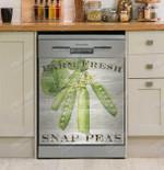 Farm Fresh Peas Dishwasher Cover Sticker Kitchen Decor