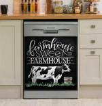 Farmer Farmhouse Sweet Farmhouse Dishwasher Cover Sticker Kitchen Decor