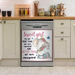 Elephant Nursery Dishwasher Cover Sticker Kitchen Decor