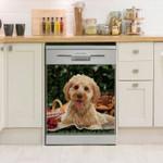 Cockapoo Picnic Dishwasher Cover Sticker Kitchen Decor