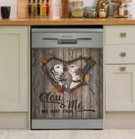 Dalmatian You And Me Dishwasher Cover Sticker Kitchen Decor