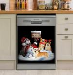 Corgi Snowballs 4 Sale For Corgi Dishwasher Cover Sticker Kitchen Decor