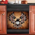 Eagle Native American Dishwasher Cover Sticker Kitchen Decor