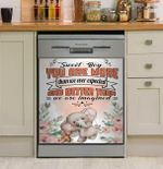 Elephant Sweet Boy You Are More Dishwasher Cover Sticker Kitchen Decor