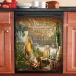 You And Me We Got This Hummingbird Camping Dishwasher Cover Sticker