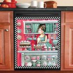 Cute Sweet Bakery Shop Dishwasher Cover Sticker Kitchen Decor