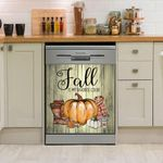 Fall Is My Favorite Color Dishwasher Cover Sticker Kitchen Decor