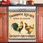 Farmhouse Kitchen Always Open Dishwasher Cover Sticker Kitchen Decor