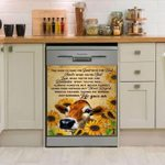 Cow Sunflower You Have To Take The Good With The Bad Dishwasher Cover Sticker Kitchen Decor