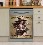 Soul Of A Witch Dishwasher Cover Sticker Kitchen Decor