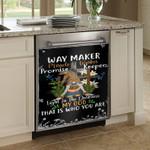 Way Maker Miracle Worker Dishwasher Cover Sticker Kitchen Decor