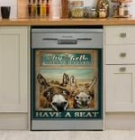 Donkey Why Hello Sweet Cheeks Have A Seat Dishwasher Cover Sticker Kitchen Decor