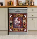 Sugar Skull Day Of The Dead Dishwasher Cover Sticker Kitchen Decor