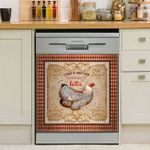Today Is Another Chance To Get Better Dishwasher Cover Sticker Kitchen Decor