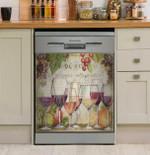 Wine Country Dishwasher Cover Sticker Kitchen Decor