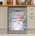 You Can Do It For Yourself Dishwasher Cover Sticker Kitchen Decor