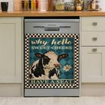 Why Hello Sweet Cheeks Have A Set Dishwasher Cover Sticker Kitchen Decor