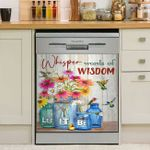 Whisper Words Of Wisdom Let It Be Dishwasher Cover Sticker Kitchen Decor