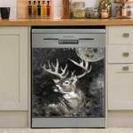 Deer I Am The Storm No Word Dishwasher Cover Sticker Kitchen Decor