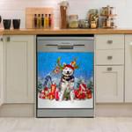 Siberian Husky Dishwasher Cover Sticker Kitchen Decor