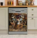 Whitetail Deer Country Dishwasher Cover Sticker Kitchen Decoration