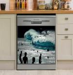 Waimea Silhouettes Dishwasher Cover Sticker Kitchen Decor