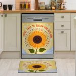 You Are Free To Follow Your Bliss Now Dishwasher Cover Sticker Kitchen Decor