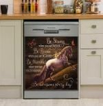 Horse Be Awesome Every Day Dishwasher Cover Sticker Kitchen Decor