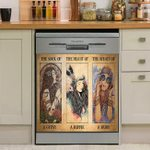 The Soul Of A Gypsy Heart Of A Hippie Dishwasher Cover Sticker Kitchen Decor