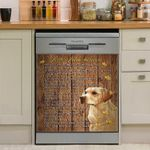 Labrador Letter From Heaven Dishwasher Cover Sticker Kitchen Decor