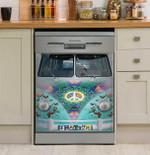 Imagine Butterfly Hippie bohemian Car Dishwasher Cover Sticker Kitchen Decor