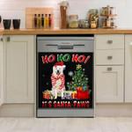 Great Pyrenees Ho Ho Ho Christmas Santa Paws Dishwasher Cover Sticker Kitchen Decor