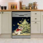 Yorkshire Snow Dishwasher Cover Sticker Kitchen Decor