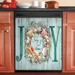 Today I Choose Joy Sea Wreath Dishwasher Cover Sticker Kitchen Decor