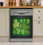 Irish Happy St Patrick's Day Dishwasher Cover Sticker Kitchen Decor