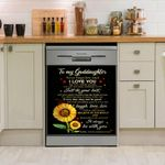 Goddaughter I Will Always Be With You Dishwasher Cover Sticker Kitchen Decor