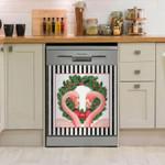 Flamingo Amore Dishwasher Cover Sticker Kitchen Decor