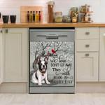 French Bulldog Beside Us Everyday Pattern Dishwasher Cover Sticker Kitchen Decor