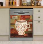 World Flavor Iii Dishwasher Cover Sticker Kitchen Decor