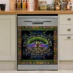 Tree Of Life Celtic Dishwasher Cover Sticker Kitchen Decor