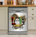 Grammy Life Love Christmas Dishwasher Cover Sticker Kitchen Decor