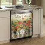 Today I Choose Joy Dishwasher Cover Sticker Kitchen Decor