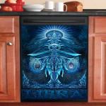 Libra Zodiac Dishwasher Cover Sticker Kitchen Decor